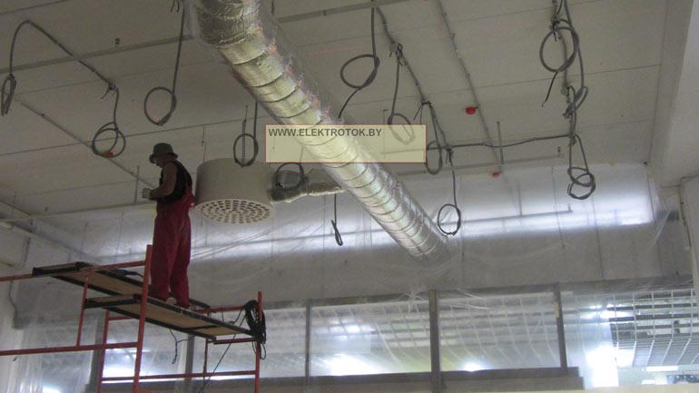 Электромонтаж в офисе