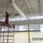 Электромонтажные работы в офисах